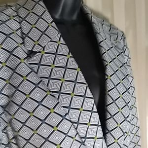 LIKE NEW! GRAPHIC SUIT JACKET